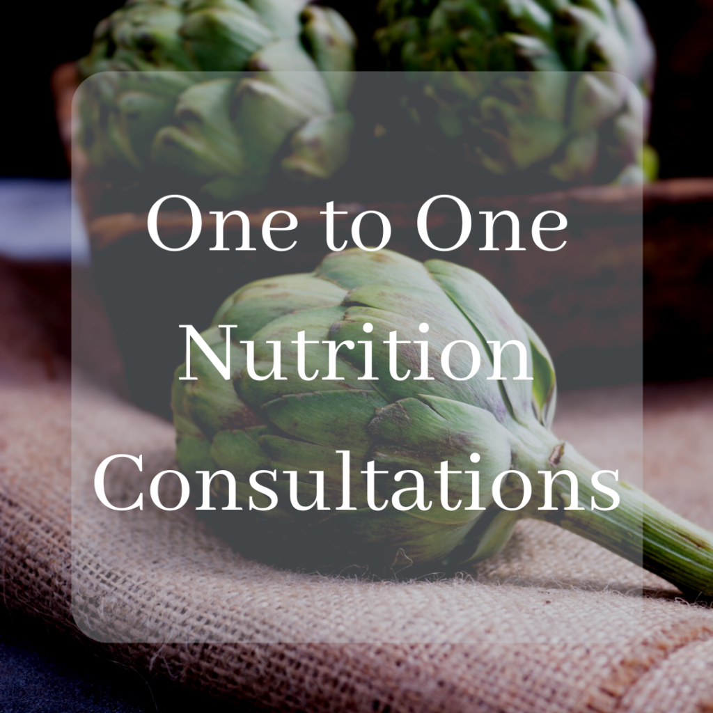Copy of One to One Nutrition Consultations (5)